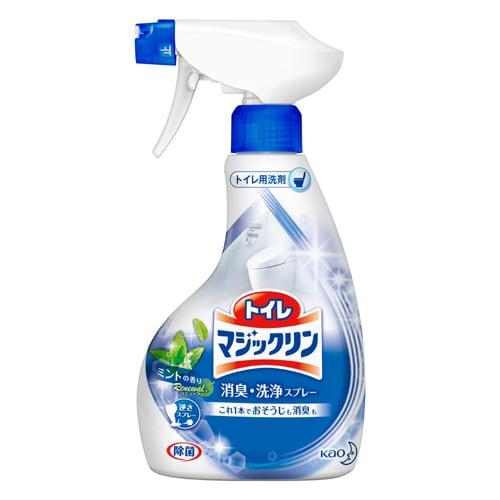 トイレマジックリン 消臭・洗浄スプレー ミントの香り 本体 [380mL]