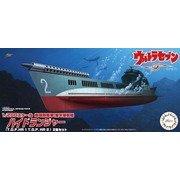 地球防衛軍海洋潜航艇 ハイドランジャー(T.D.F.HR-1、T.D.F. HR-2)2隻セット [1/200 ウルトラセブンシリーズ]
