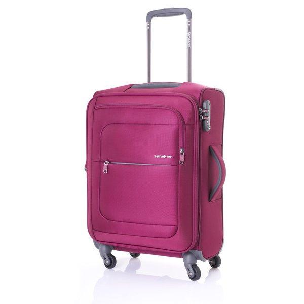 AA4*00001 POPULITE 55cm RED [ソフトスーツケース ポピュライト スピナー55 旅行日数目安:1~3泊 TSAロック搭載 40/44L(拡張機能付) レッド]