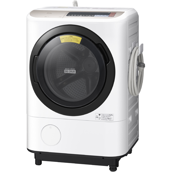 BD-NX120BL N [ドラム式洗濯乾燥機 12kg 左開き シャンパン]