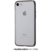 IN-P7SCC9/BM [iPhone 8/7用 ハイブリッドガラスケース クリア ブラック]