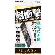OWL-TGTIP8-CL [iPhone X 耐衝撃 強化ガラス 液晶保護フィルム]