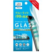 PG-17LGL15 [iPhone 8 Plus/7 Plus ブルーライト低減90% ガラス 液晶保護フィルム]