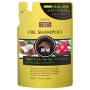 ディブ 3種のオイルシャンプー(馬油・椿油・ココナッツオイル)詰替用