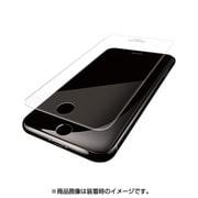 PM-A17MFLFPBLR [iPhone 8/7/6s/6用 フィルム フルカバー 衝撃吸収 ブルーライトカット 防指紋 反射防止 透明]