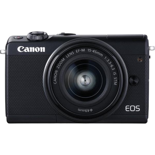 EOS M100 15-45 IS STMレンズキット ブラック [ボディ + 交換レンズ「EF-M15-45mm F3.5-6.3 IS STM」]