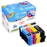 JIT-KH1784P [HP 178 4色パック 互換 リサイクルインクカートリッジ B/C/M/Y 4色パック]