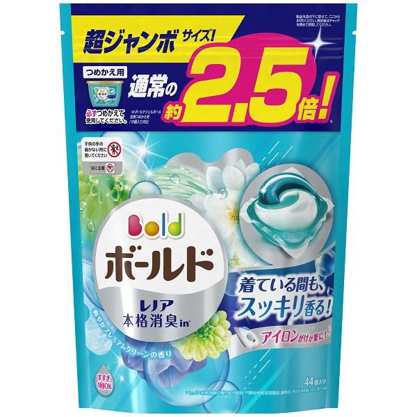 ボールド ジェルボール3D 爽やかプレミアムクリーン 詰替 超ジャンボ