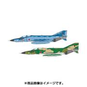 PF-24 [航空自衛隊 偵察機 RF-4E ファントムII 洋上迷彩/通常迷彩 (2機セット) 1/144スケール 自衛隊機シリーズ]