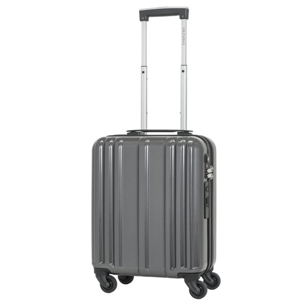 OT-0749-40 [スーツケース 旅行日数目安:1~2泊 23L TSAロック搭載 機内持ち込み可 ブラックカーボン]