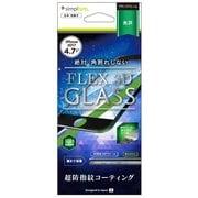 TR-IP174-G3-CCBK [iPhone 8用 FLEX 3D 複合フレームガラス フィルム ブラック]