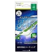 TR-IP174-G3-CCWT [iPhone 8用 FLEX 3D 複合フレームガラス フィルム ホワイト]