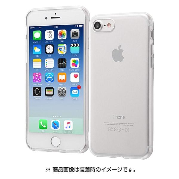 RT-P14TC3/CM [iPhone 8/7用 ケース ソフト TPU ウルトラクリア クリア]