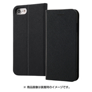 RT-P14SLC3/JB [iPhone 8/7用 手帳型ケース マグネットタイプ ブラック]