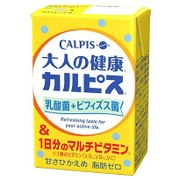 「大人の健康・カルピス」 乳酸菌+ビフィズス菌&1日分のマルチビタミン 125ml×24本