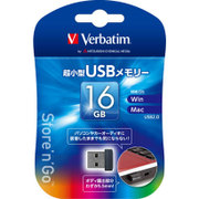 USBNN16GVZ4 [USBメモリ USB2.0対応 16GB 超小型筐体 Win/Mac対応]