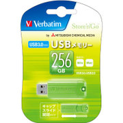 USBSPS256GGV1 [USBメモリ USB3.0、USB2.0両対応 256GB スライド式 Win/Mac対応]