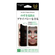 iP8-MBLR [iPhone X 左右のぞき見防止 液晶保護フィルム]