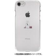 DS10425i7S [iPhone 8用 ソフトクリアケース ミニ動物シロクマ]