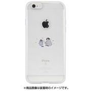 DS10426i7S [iPhone 8用 ソフトクリアケース ミニ動物ペンギン]