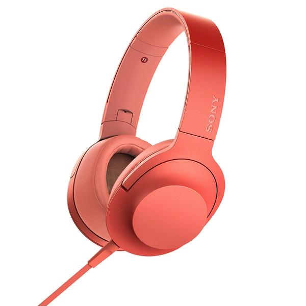 MDR-H600A R [ステレオヘッドホン h.ear on 2 トワイライトレッド]