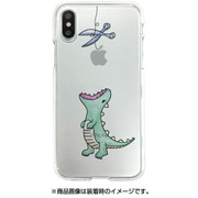 DS10369i8 [iPhone X用 ソフトクリアケース GR]
