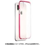 iPhone X用 染TUPケース ワインレッド