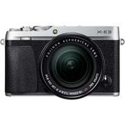 X-E3 レンズキット シルバー [ボディ+交換レンズ「XF18-55mm F2.8-4R LM OIS」]