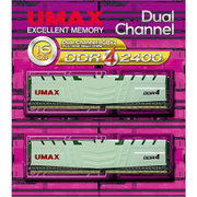 DCDDR4-2400-16GB HS [メモリ UMAX DDR4-2400 8GB×2 SingleSide]