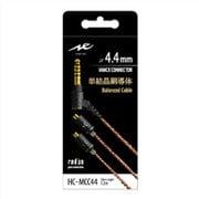 HC-MCC44K [単結晶銅導体 MMCXコネクタイヤホンケーブル φ4.4mmプラグ バランス接続]