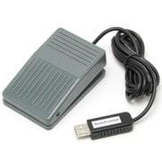 RI-FP1MG [メカニカルスイッチ搭載 USBフットペダルスイッチ 1ペダル]