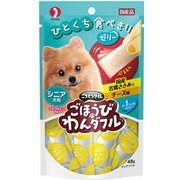 ご褒美ワンダフルシニア犬用国産鶏ササミ&チーズ味 48g