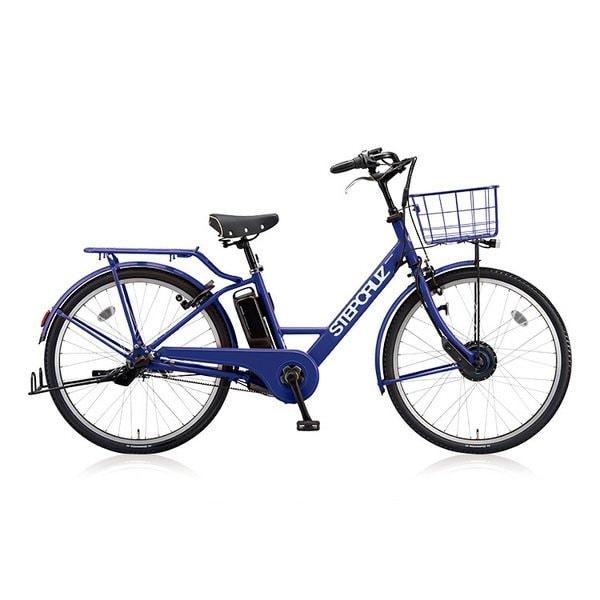 STEPCRUZ e (ステップクルーズ e) E.Xバイオレットブルー 前輪モーター×後輪ベルト両輪駆動 電動アシスト自転車 2018年モデル 26型タイヤサイズ 内装3段変速 14.3Ahバッテリー 3P80UD0 ST6B48