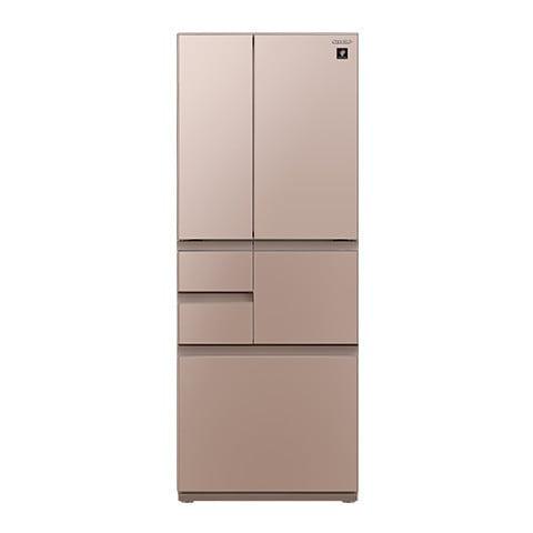 SJ-GT47D-T [プラズマクラスター冷蔵庫 (474L・フレンチドア) 6ドア メタリックブラウン]