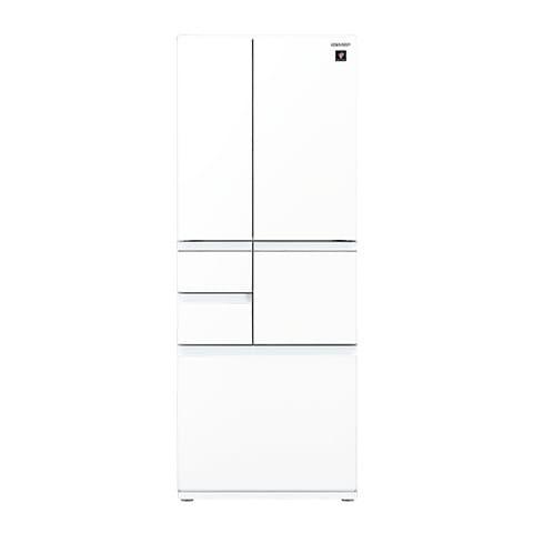 SJ-GT47D-W [プラズマクラスター冷蔵庫 (474L・フレンチドア) 6ドア ピュアホワイト]