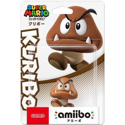 amiibo(アミーボ) クリボー (スーパーマリオシリーズ) [ゲーム連動キャラクターフィギュア]