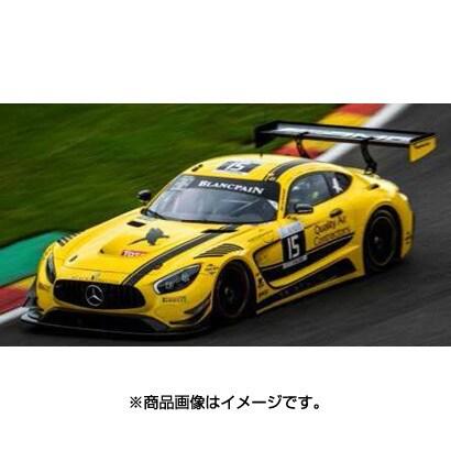 SB161 [ダイキャストミニカー Mercedes-AMG GT3 No.15 24H SPA 2017 Black FalconD. Chaponik - B. Sandberg - S. Heckert - J. Bleekemolen]