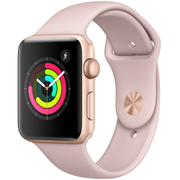 Apple Watch Series 3 (GPS) - 42mm ゴールドアルミニウムケース と ピンクサンドスポーツバンド [MQL22J/A]