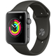 Apple Watch Series 3 (GPS) - 42mm スペースグレイアルミニウムケース と グレイスポーツバンド [MR362J/A]