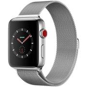 Apple Watch Series 3 (GPS + Cellularモデル) - 42mm ステンレススチールケース と ミラネーゼループ [MR1U2J/A]