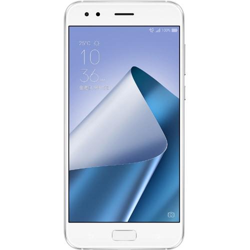 ZE554KL-WH64S6 [ZenFone 4 SIMフリースマートフォン 5.5型ワイド フルHD 1920×1080/Android 7.1.1/Qualcomm Snapdragon 660 2.2GHz/メモリ6GB/ROM64GB/IEEE802.11a/b/g/n/ac/Bluetooth 5.0/LTE/指紋センサー/ムーンライトホワイト]