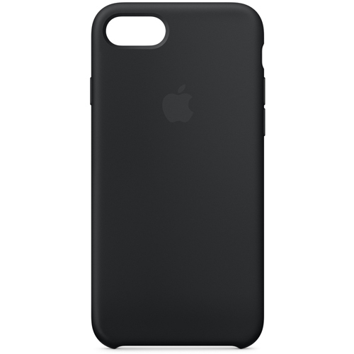 iPhone 8/iPhone 7 シリコーンケース - ブラック