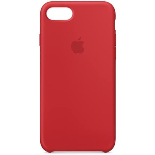 iPhone 8/iPhone 7 シリコーンケース - (PRODUCT)RED