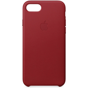 iPhone 8/iPhone 7 レザーケース - (PRODUCT)RED