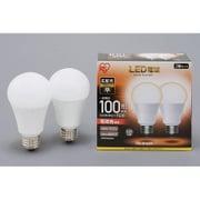 LDA14L-G-10T52P [LED電球 E26口金 広配光タイプ 100形相当 電球色 密閉器具対応 2個セット]