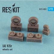 RSK720051 [1/72 レジン製ディティールアップパーツ No.72-0051 IAI クフィル ホイールセット]