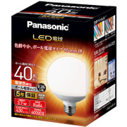 LDG4LG95W [LED電球 ボール電球タイプ 95mm径 40形相当 430lm 広配光タイプ E26口金 電球色相当]