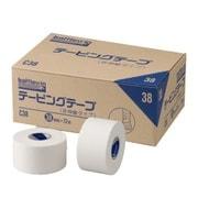 ニチバン NICHIBAN テーピングテープ 非伸縮タイプ 38mm×12m 12巻入