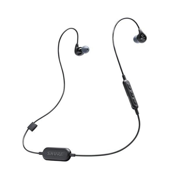SE112-K-BT1-A [SE112 Wireless Bluetooth搭載 高遮音性イヤホン ブラック]