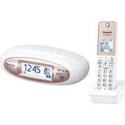 VE-GZX11DL-W [デジタルコードレス電話機 RU・RU・RU 子機1台付き パールホワイト]